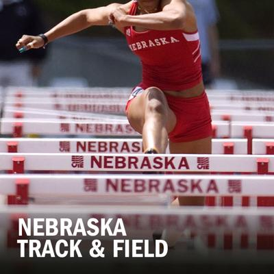 Nebraska track and field logo 2014
