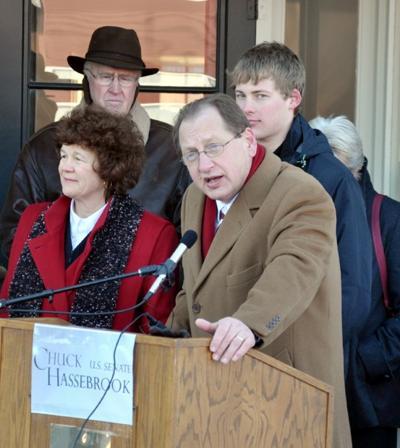 Hassebrook to run for Senate
