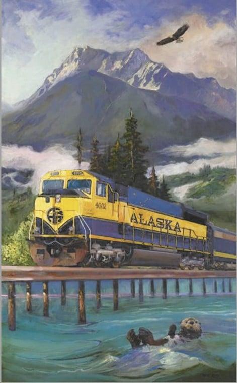 Alaska Railroad Solicits Art Print Ideas Arts Briefs