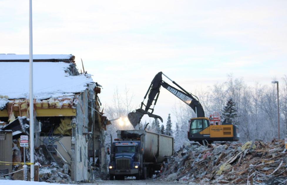 Houston Middle School was demolished last winter