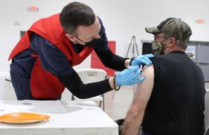 Nearly 1,000 COVID-19 vaccine doses administered at Raven Hall this week