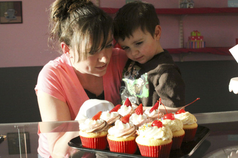 New Sweet Shop Offers Line Of Gourmet Cupcakes Custom Cakes And