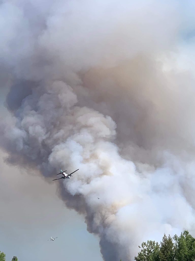 Montana Creek Fire