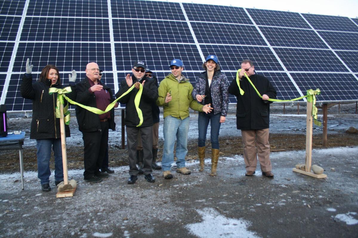 Willow Solar Farm ribbon cutting