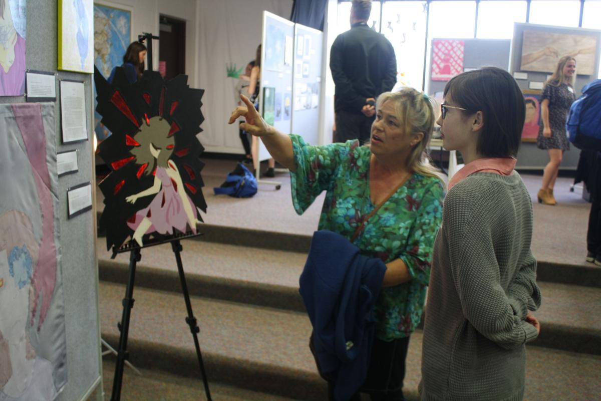 Palmer High School IB art show