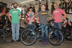 Bike shop donation replaces stolen rides for PJMS students