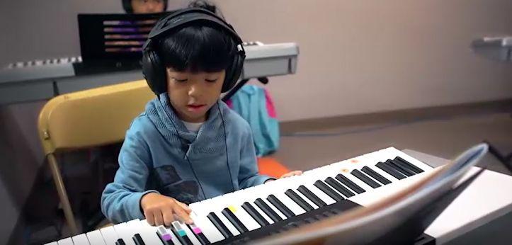 Keyboard kid