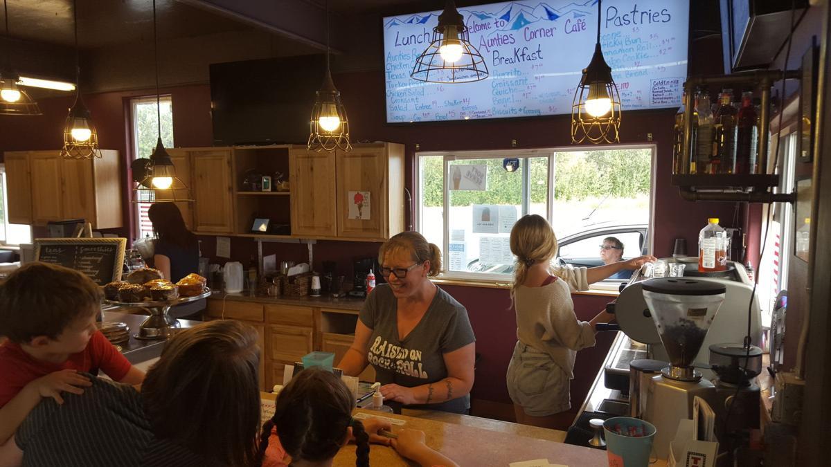 Inside Aunties Corner Cafe