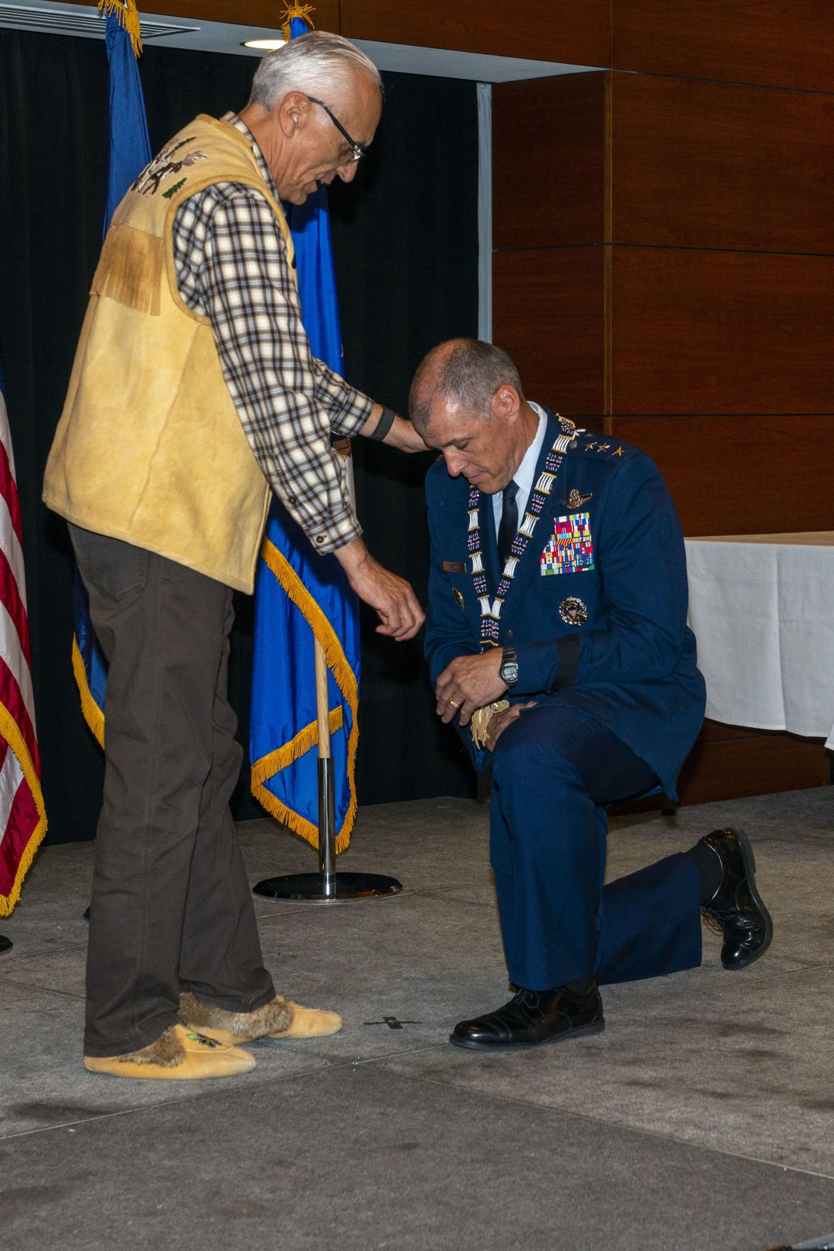 11th Air Force commander honored during Alaska Native naming ceremony