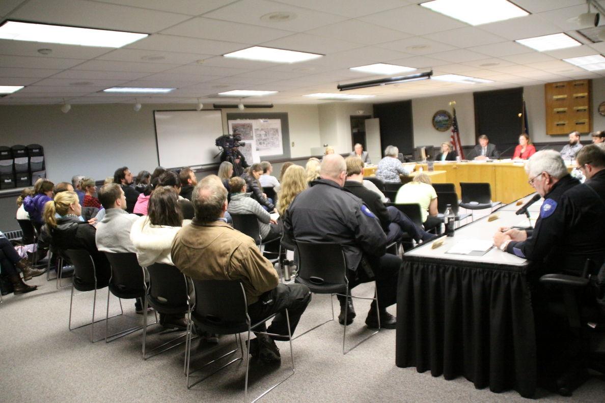Wasilla council meeting