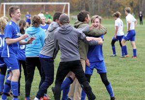 A WIN AFTER A LOSS: Following the death of a teammate, Wasilla Lake Christian earns co-ed soccer state title