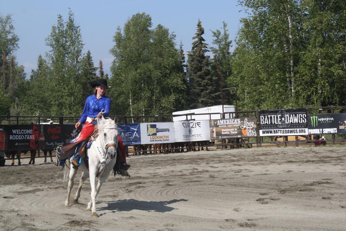 Rodeo contestant