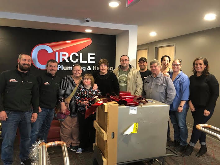 Circle Plumbing and Heating give free furnace