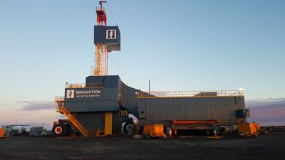 Hilcorp Energy's Innovation drill rig