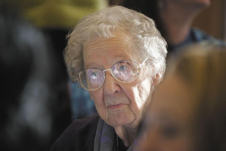 Lady Moose honor June Liebing