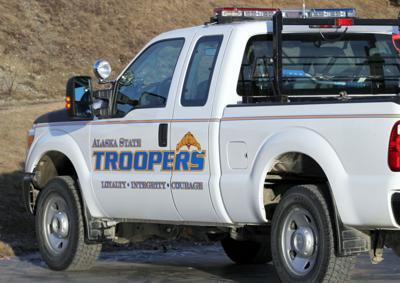 Alaska State Troopers truck