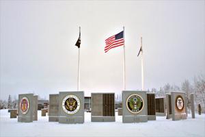 New look at Veterans Wall