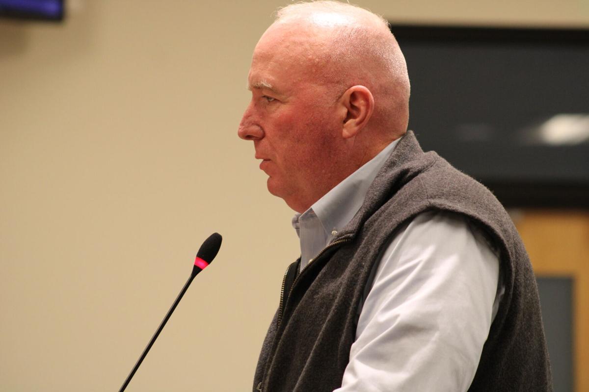 Public Works Director Terry Dolan