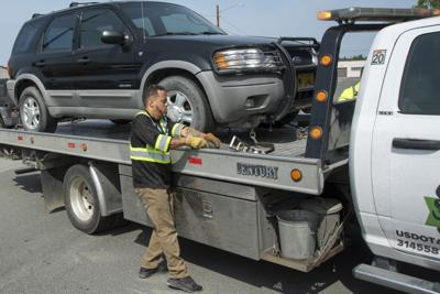 Abandoned and illegally parked vehicles on JBER are towed