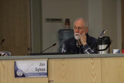 Assembly member Jim Sykes