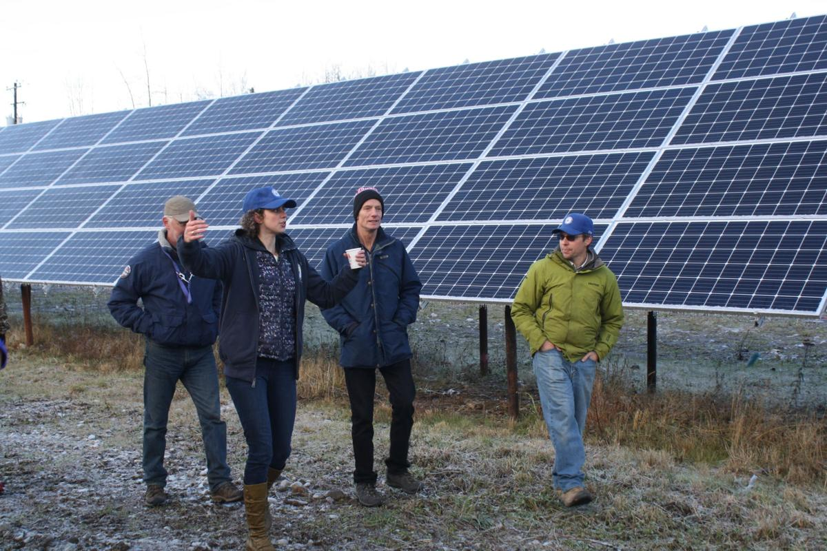 Willow Solar Farm tour