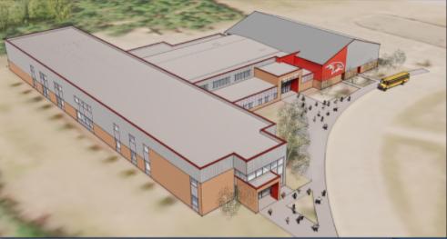 The new Houston High School