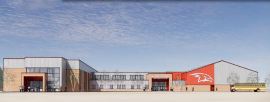 Houston High School conceptual drawings
