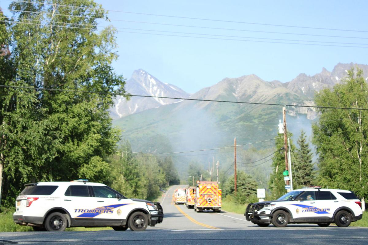 Smith Road fire