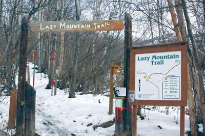 Lazy Mountain trailhead