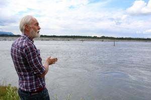 The ever-eroding Matanuska River