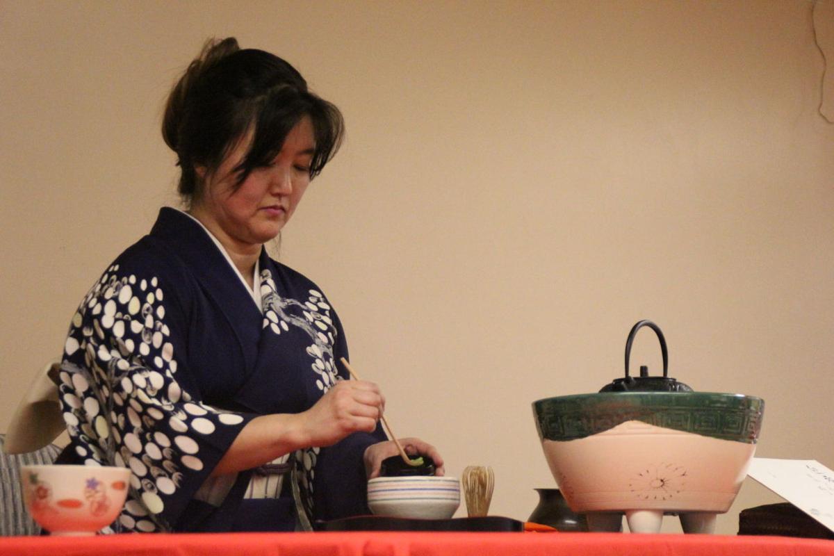 Palmer Saroma Kai tea ceremony