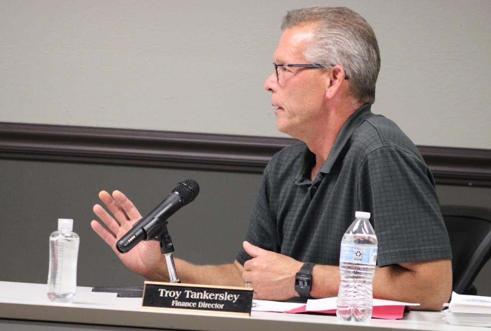 Wasilla Finance Director Troy Tankersly
