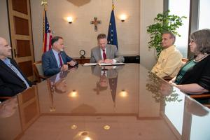 Governor signs capital budget