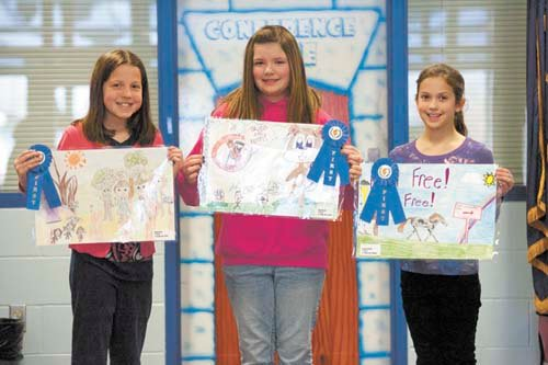 young artists treated to lunch palmer police department