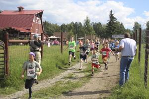 'Running With the Bulls' celebrates 15 years at the Musk Ox Farm