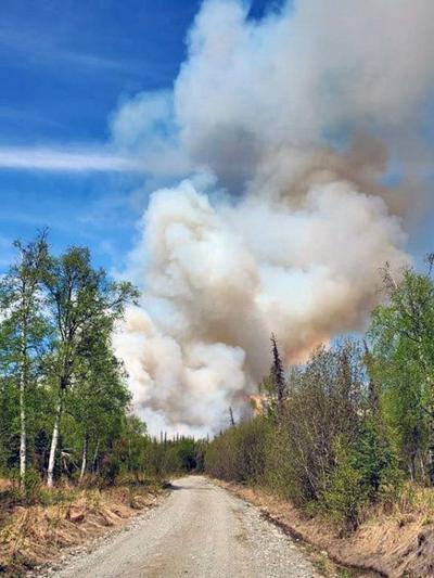 Moose Meadows Fire