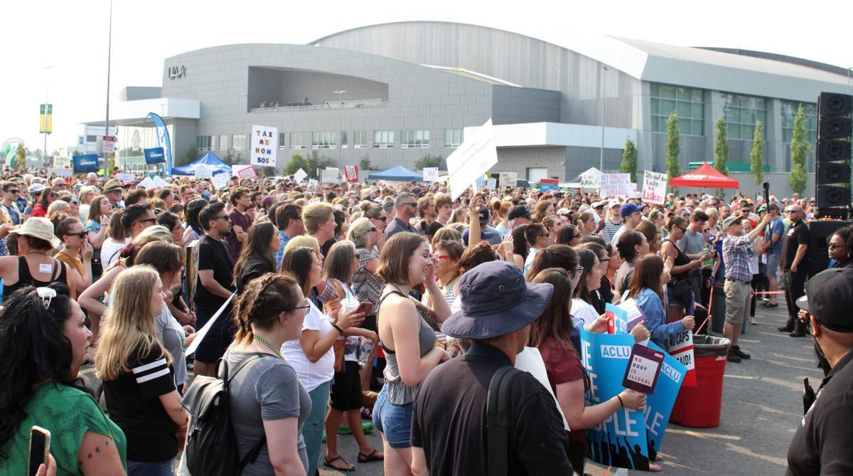 UAA rally