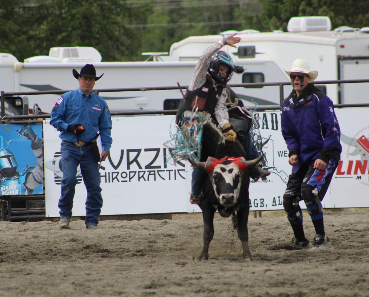 Rodeo Alaska jr rider