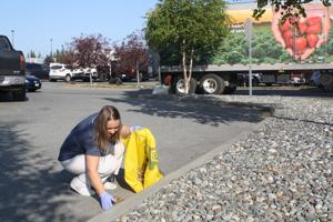 Cleaning up: Recovered addict establishes quarterly parking lot pickup for local grocery stores