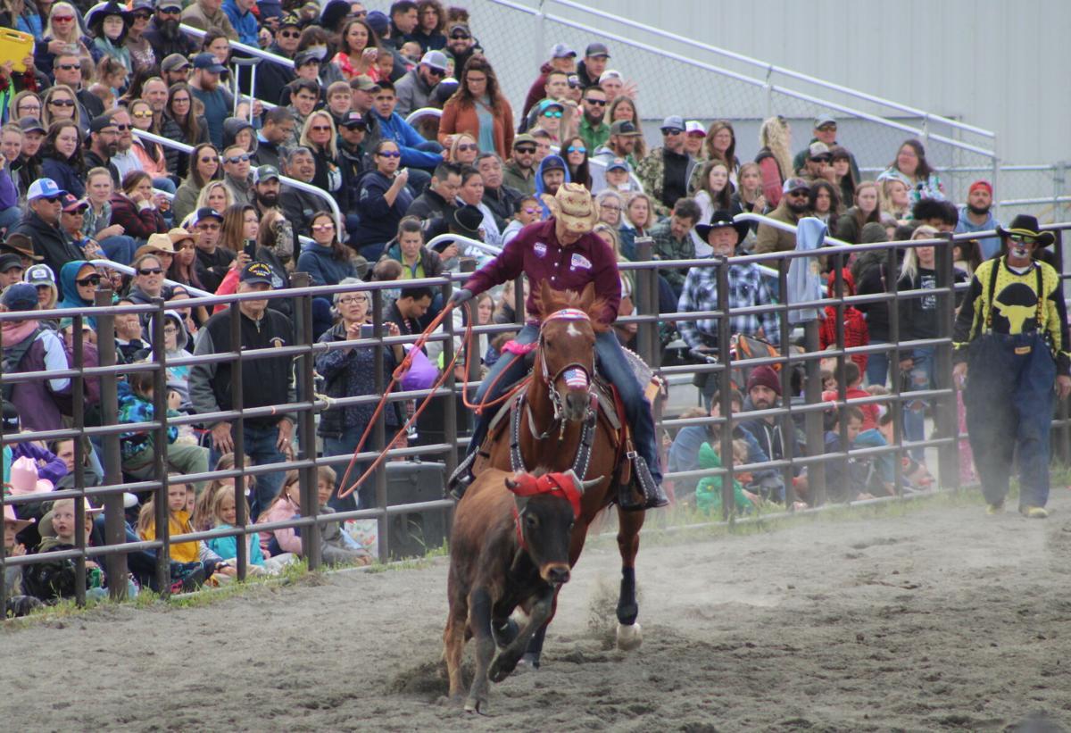 Rodeo Alaska roping event
