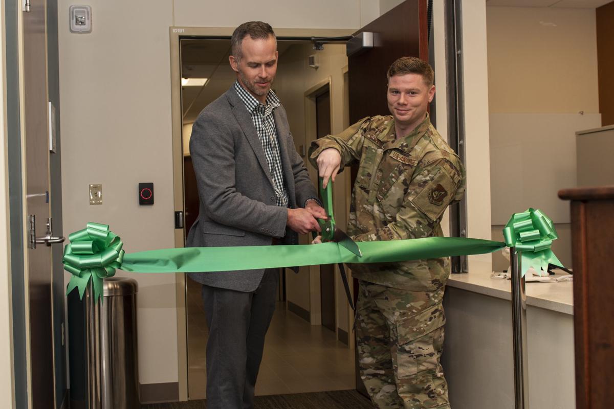MRI suite ribbon-cutting ceremony celebrates remodel and upgrades