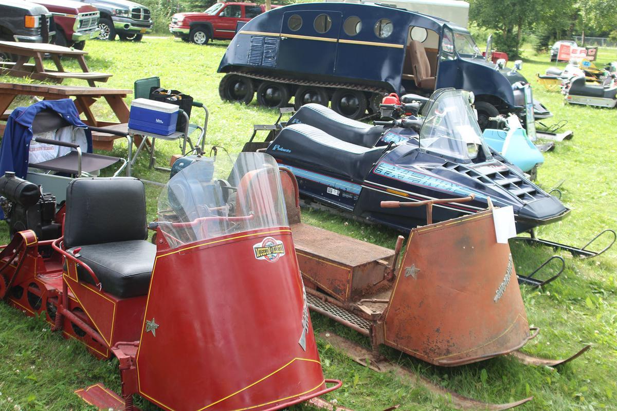 Transportation museum hosts summer Vintage Snowmobile Show