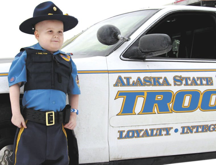Old Police Cars For Sale >> Tiniest trooper vows to serve and protect | Local News Stories | frontiersman.com