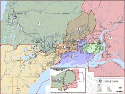 Mat-Su Borough district map