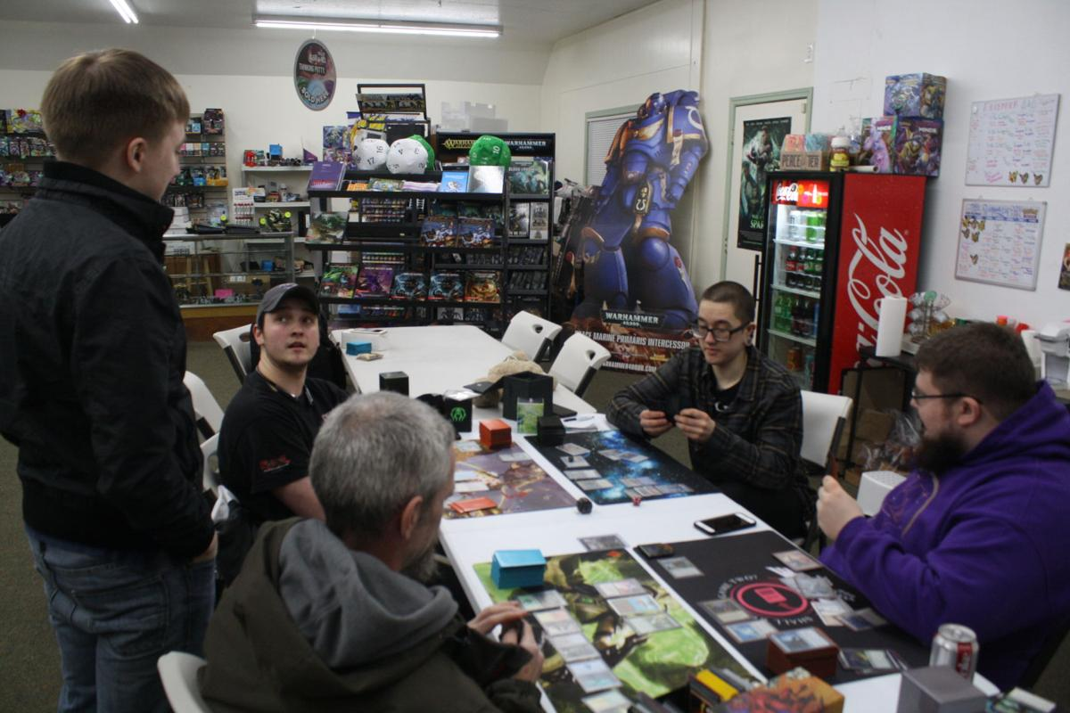 Local Magic the Gathering players