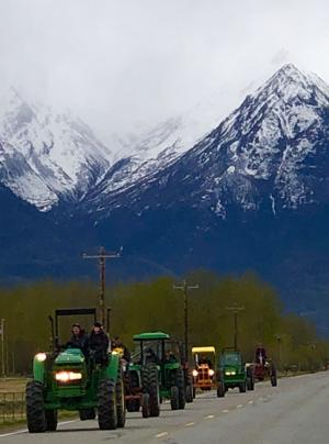 Drive Your Tractor To Work Day