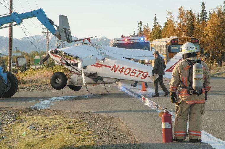 Plane crash lands on road | Local News Stories