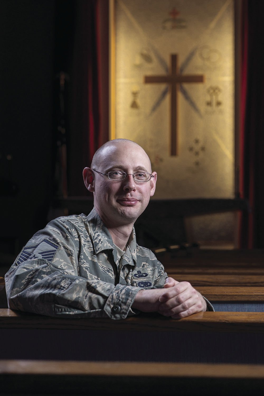 Master Sgt. Steven James