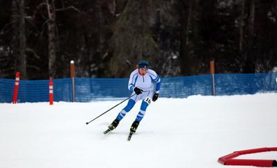 Prep cross-country skiing