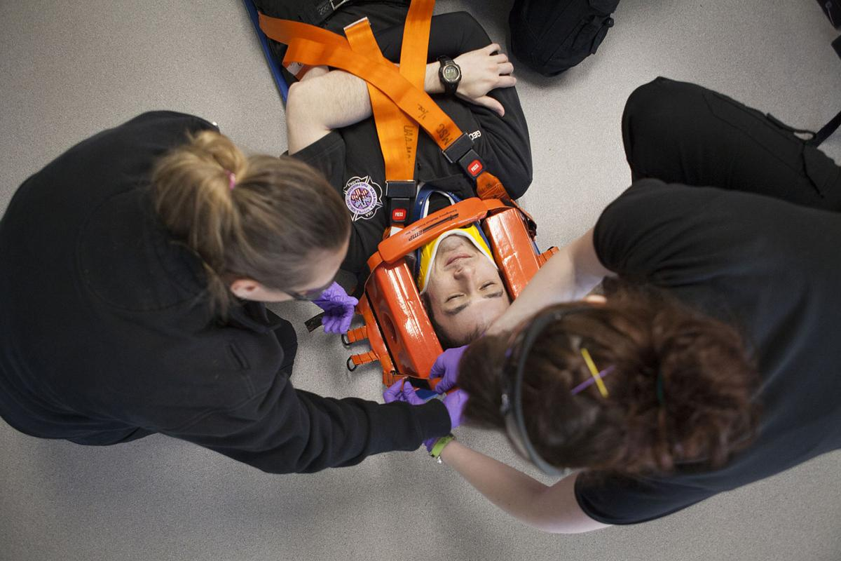 Mat-Su College students learn skills to become paramedics